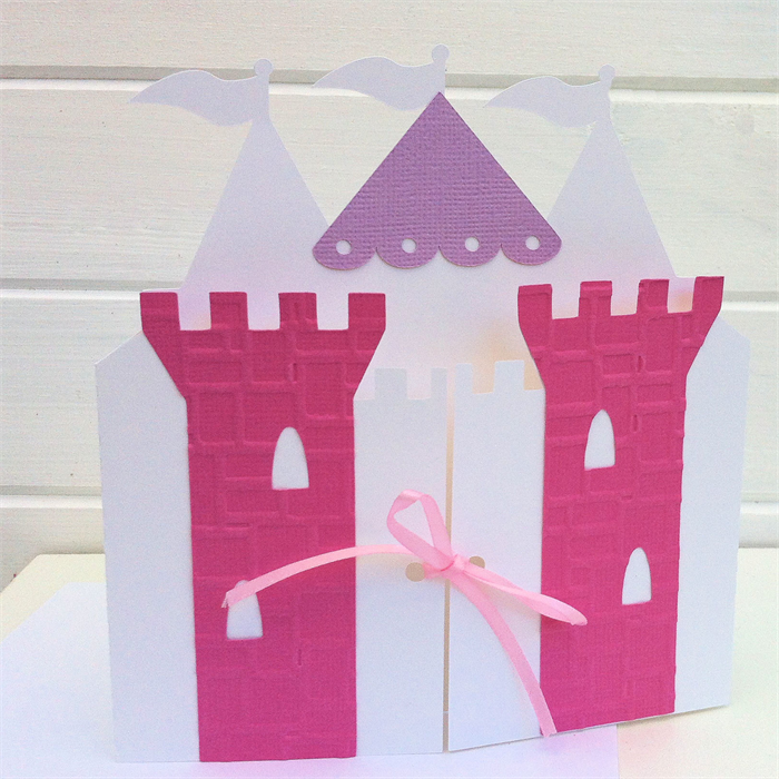 CUSTOM Princess Castle Invitations