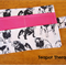 Bulldog Tea Wallet - Holds 4 Teas - dogs, dog, puppy pattern