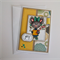 Christmas Card - Xmas Mouse - Candy Cane - Joy - Nontraditional