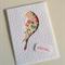 Floral Bird Cutout Card