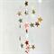 ☆ Sweet Stars Stitched Paper Garland Decoration Pink Green Grey- Nursery Decor