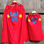 ~ Fathers Day Superhero Set ~ Adult + Child ~
