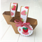 Strawberry Mini Baskets. Birthday party or baby shower favors, gift boxes.