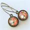 Flower Print Earrings