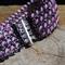 Weave of lavender bracelet - Ready to Ship