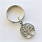 Buy 3 get 1 free! Tree of Life Silver Keyring