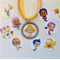Deema Bubble Guppies Boutique Bottlecap Pendant Necklace (or you choose your cha
