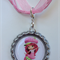 Strawberry Shortcake Boutique Bottlecap Pendant Necklace
