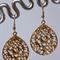 Ornate Gold Earrings