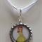 Sofia the First Princess Amber Boutique Bottlecap Pendant Necklace