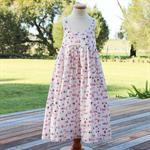 Hummingbird Dress Sz 7