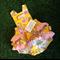 Yellow paisley ruffle romper Size 0