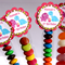 8 Pack Dino Girl Lolly Tube Birthday Party Favour #LT0008
