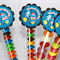 8 Pack Space Lolly Tube Birthday Party Favours #LT0019