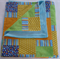 Baby Boy Blanket - Blue/Orange/Yellow