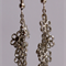 Silver Daisy Chain Earrings