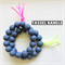 NEON TASSEL teething bangle Pink