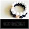 GEO teething bangle White
