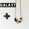 GALAXY Teething necklace Black