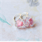 Vintage Swarovski Earrings. Pink. European Style Leverback. Sterling Silver