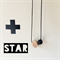 STAR teething necklace