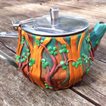 'Warrandyte wilds' teapot
