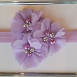 Baby Headband in Lilac