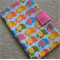 Baby Nappy and Wipe Holder - Colourful Elephants