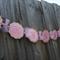 PINK & GOLD birthday party banner, Garland, Ballerina banner