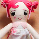 Original Spring Flower Doll
