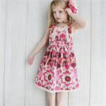 Midsummer Pinafore Girls Dress