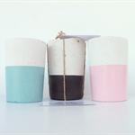 Concrete Trio - Three Tealight Candle Holders - Urban Decor