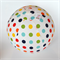 Balloon Ball Cover - Rainbow dots - Giant Size