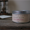 Scented 8oz Tin Soy Candle Choose Your Scent - Made To Order