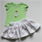 Girls Christmas Set - Size 2 - Skirt and Top