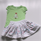 Girls Christmas Set - Size 3 - Skirt and Top