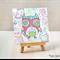 Cutie Owl Half Fold Greeting Card (1492)