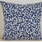Navy Coral Cascade Designer Cushion Cover