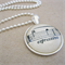 Vintage Sheet Music Necklace - Espressivo