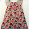 Size 2 Girl's peasant dress Elephants Everywhere