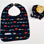 Baby and Toddler Bib and Soft Toy Set