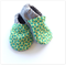 Zesty Green Baby Shoes