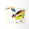 Watercolour Bird / Zipper pouch purse / clutch / nature / wallet