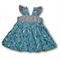 SIZE 1 Blue Owls Grace Dress