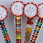 8 Pack Baby Shower Lolly Tube Party Favour #LT0006