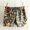 baby shorts | jungle monkey | organic cotton | size 6-12m
