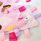FREE POST * DORA ~ Baby Security Blanket Blankie Taggie Toy + FREE Taggy saver