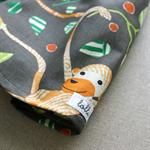jungle monkey | toddler shorts | cotton | size 18m