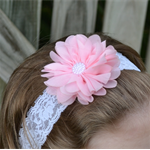 Pink Headband - size 6 months to 3 yrs