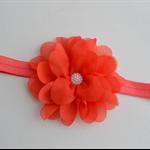 Flower Headband - size 6 months to 3 yrs